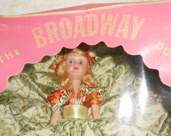 1940's Broadway Doll in Box, Celluiod