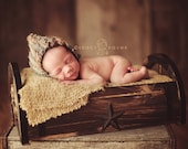 Rustic Star Wagon Wheel Crate/ Bed for Newborn Photography..