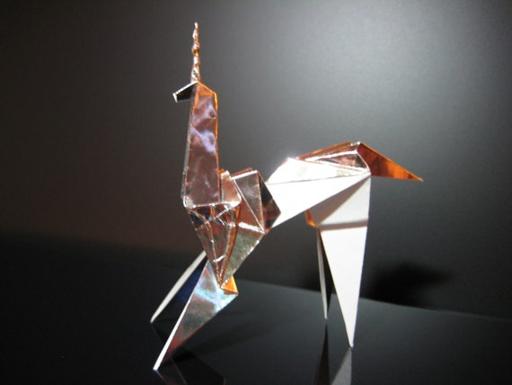 Blade runner movie unicorn origami