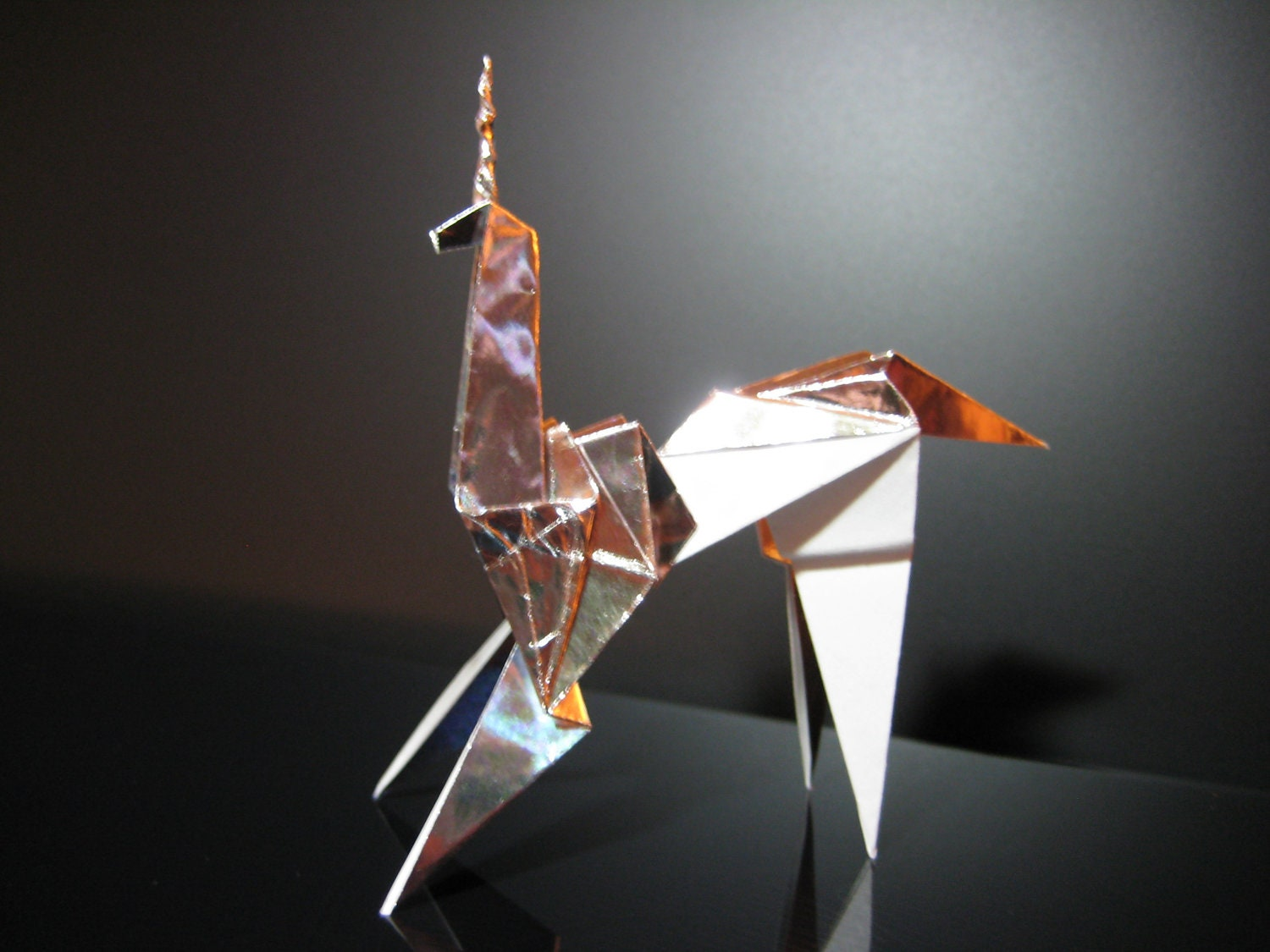 blade runner origami unicorn prop by thefurthershore on etsy