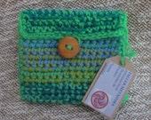 Crochet purse/Saquito de ganchillo