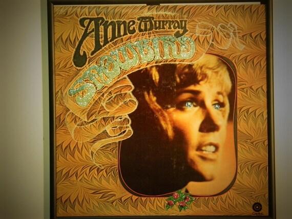 Glittered Record Album - Anne Murray