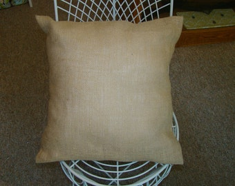 burlap pillow cover, fall decorations,Halloween decorations
