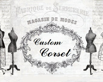 Custom corset made to measure