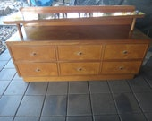 Retro Side Table / Hall Table / Sideboard Wooden