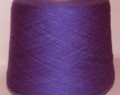 Puple Acrylic Cone Machine Knitting Yarn 2Lbs aprox.