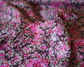 Liberty of London Tatum chocolate Liberty fabric beautiful