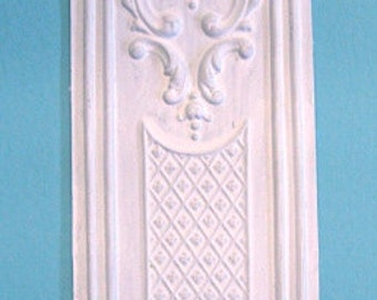 Dollhouse Miniature Decorative Victorian Wall Panel