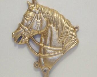 Horse Head-Cast Iron-Man Cave Decor-Cowboy-Cowgirl