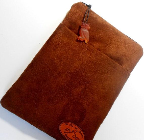 Microsuede Kindle cover, Kindle sleeve, Nook cover, eReader cover, eReader sleeve.