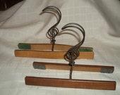 Antique Wooden Trouser Hangers