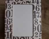 SERIOUS SALE Wood Numbers Frame cyber monday