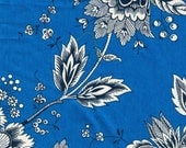 Blue Provencial Fabric - 3 Yards