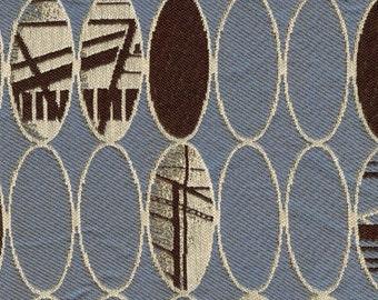 Denim Blue Upholstery Fabric - 1 Yard
