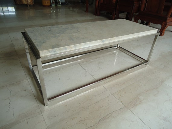 Luxurious Marble Coffee Table