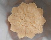 3 Lotus Design Soaps with White Tea and Ginger Fragrance