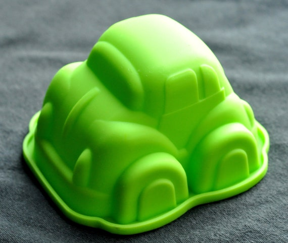 Silicone Silicon Soap Molds Candle Making Molds Chocolate Mold Cute Single Car