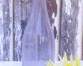 Light Purple Glass Bottle