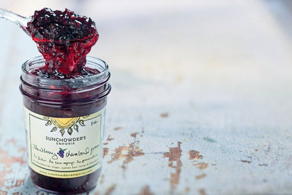 Blackberry Chambord Jam as seen in Southern Living Magazine