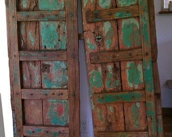 Primitive Teak Shabby Chic Doors from India