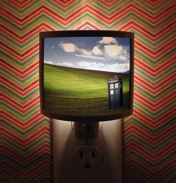 Dr Who Night Light  4 designs to Choose from nursery bathroom hallway bedroom TAKE IT with