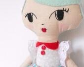 Pippa, little softie doll