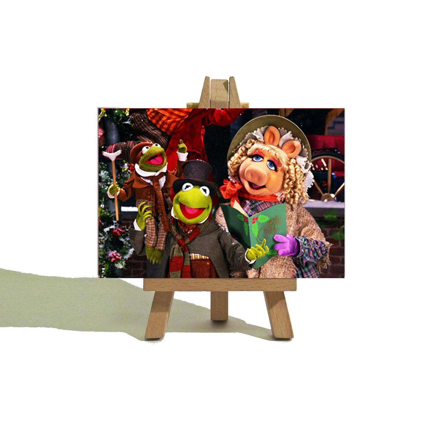 The Muppet Christmas Carol: KERMIT And Miss PIGGY The Muppets Christmas Carol Cute