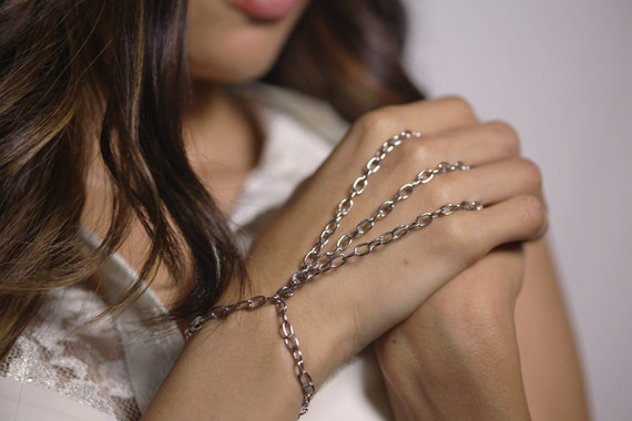 Silver or Gold Chain Bracelet