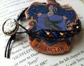Harry Potter Ravenclaw House Leather-Wrap Bracelet - Handmade