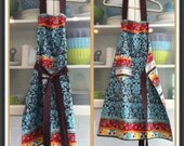 """Apron Revesable and Funky """"The Ladies Apron"""""""