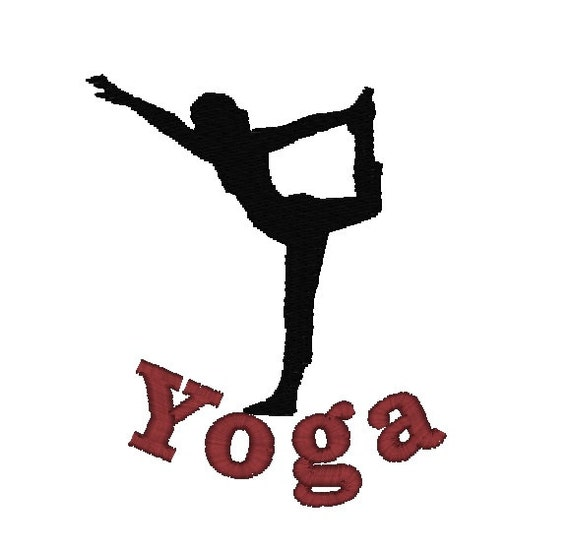 Items similar to yoga machine embroidery design bag