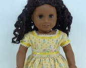 18 Inch Doll Clothing for American Girl Dolls - A Sunday Dress for Marie-Grace, Cecile, or Addy