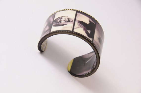 Acrylic Bracelet / Cuff - Psycho - Alfred Hitchcock - Wristband