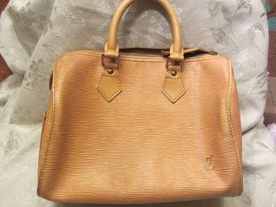 Vintage Louis Vuitton EPI leather SPEEDY