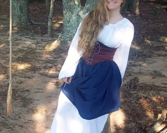 Saucy Wench, Garb, LARP, SCA, Cosplay, Renaissance Faire, Costume, Pirate