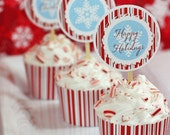 MOD CANDY CANE Holiday Party Supplies by The Celebration Shoppe