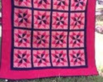 Flannal Star quilt