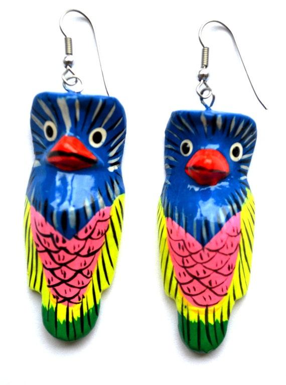 Great Parrot Earrings