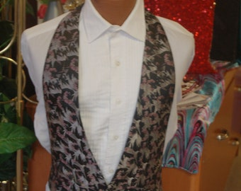 mens vintage vest