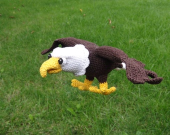 Amigurumi Crochet Pattern - Sam the Eagle