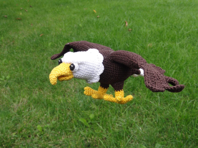 Amigurumi Gingerbread Man Free Pattern : Amigurumi Crochet Pattern Sam the Eagle