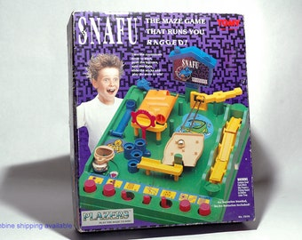 Snafu the Maze Game from Tomy 1991 (read description)