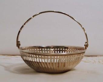 Petite Silver Basket