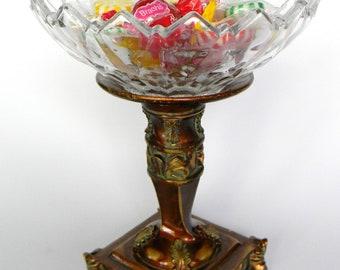 Condiment or Dip Pedestal Bowl