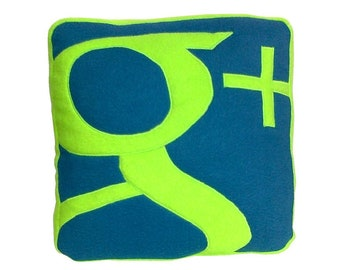Geek pillow, Pillow Google Plus
