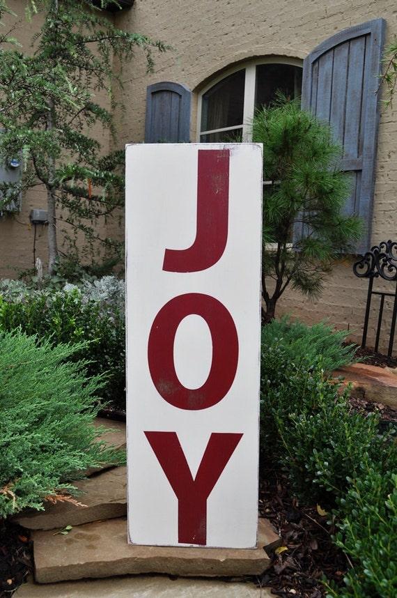 Christmas Sign Christmas Wall Decor Joy Typography Word