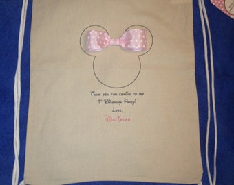 12 Minnie Mouse Party Gift Bags