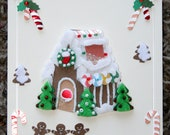 Gingerbread Galore Christmas Blank Card