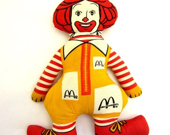 Vintage Ronald McDonald Doll