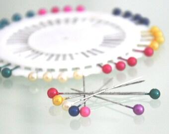 40pcs Pearl Head Corsage|Florist Pins|Decorative Pins - Choose your colors